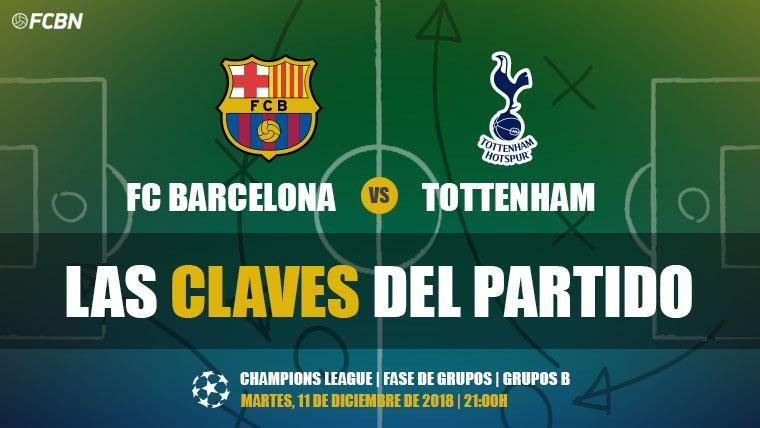 Las claves del FC Barcelona-Tottenham de Champions