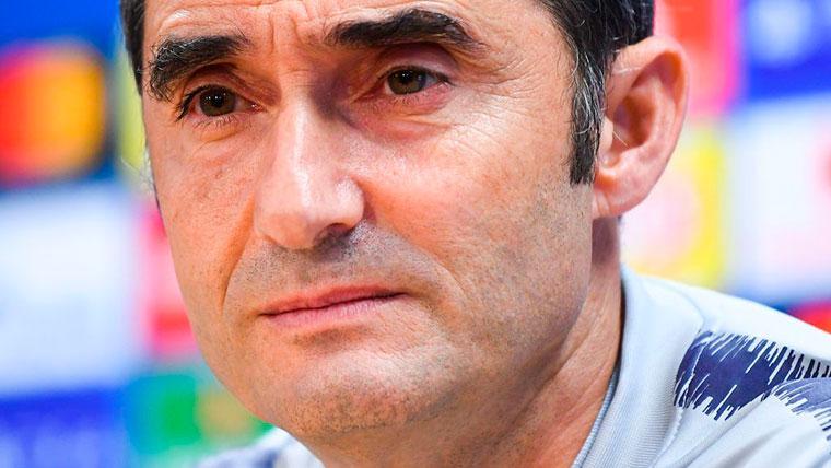 Valverde habla sobre el 'caso Dembélé' y anuncia rotaciones