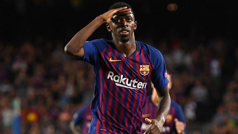 Este chico es de lo que no hay... ¡Qué golazo de Dembélé en el Barça-Tottenham!