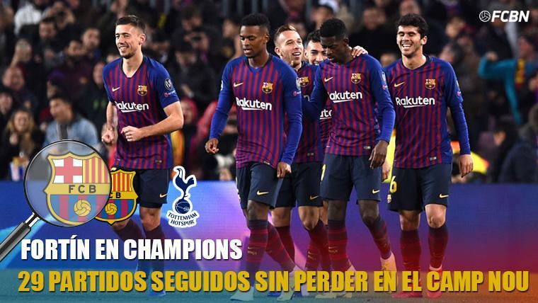 El Barça iguala un récord del Bayern Múnich en Champions