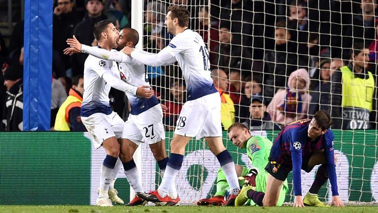 Lucas Moura empató... ¡Y clasificó al Tottenham para octavos de Champions League!