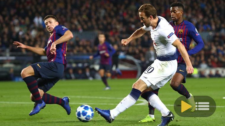 Vídeo resumen: FC Barcelona 1 Tottenham 1 (Champions J6)
