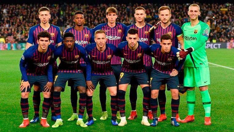 Las reacciones de Aleñá y Miranda tras su estreno con el Barça en Champions