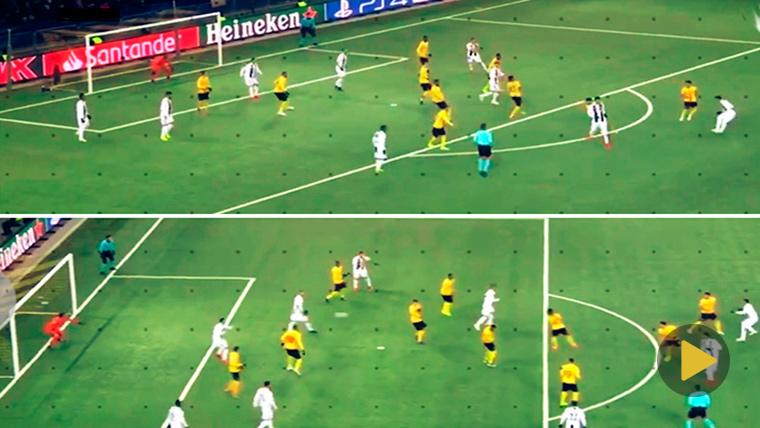Cristiano Ronaldo evitó un golazo de Dybala... ¡Y logró que la Juventus perdiera!