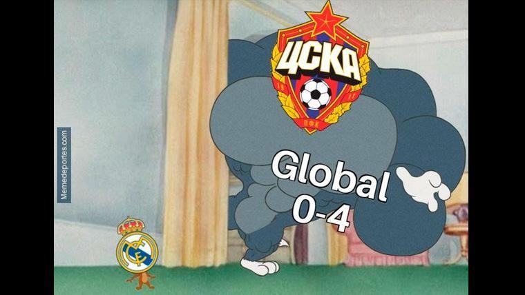 Estos son los mejores 'memes' del Real Madrid-CSKA de Moscú