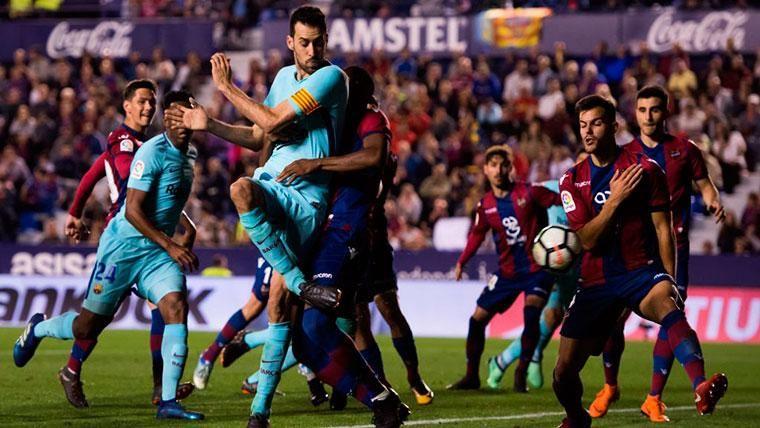 ALERTA: El Levante ya sabe lo que es golear al Barça de Valverde