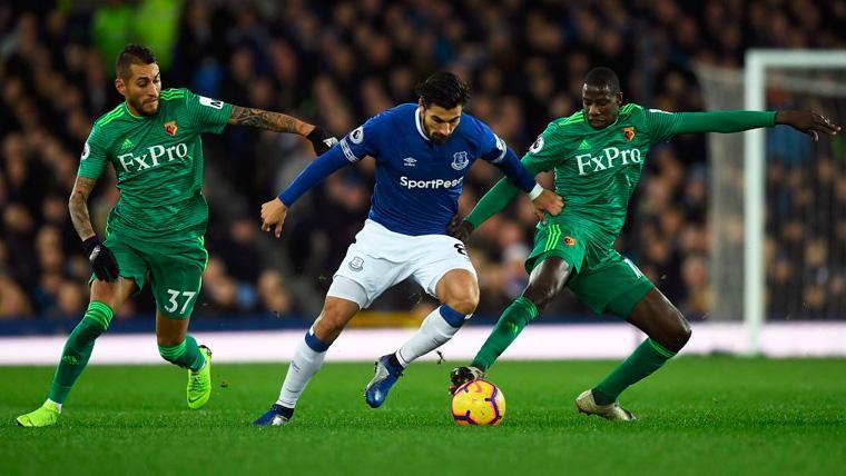 La cesión al Everton funciona: El Tottenham, también interesado en el fichaje de André Gomes