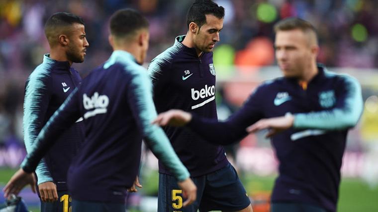 Preocupación por la cercana retirada de Busquets con el Barça