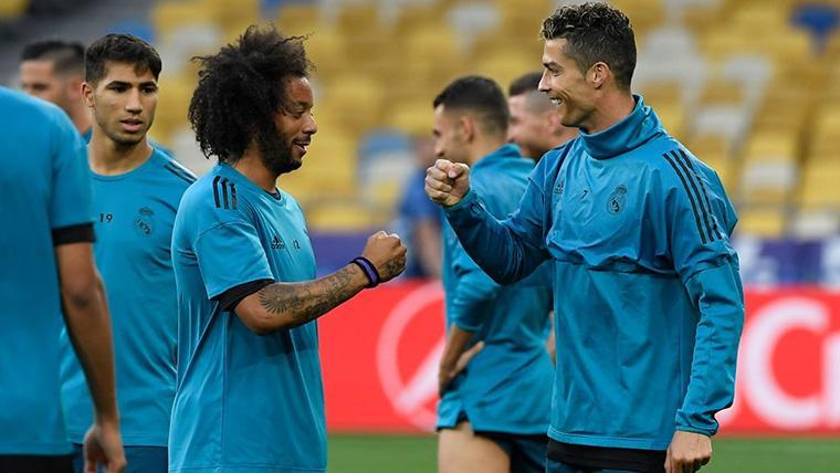 Marcelo admite que el Real Madrid echa de menos a Cristiano Ronaldo