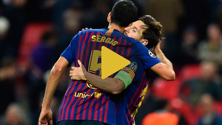 Messi y Busquets, en el once ideal de la Champions League para 'France Football'