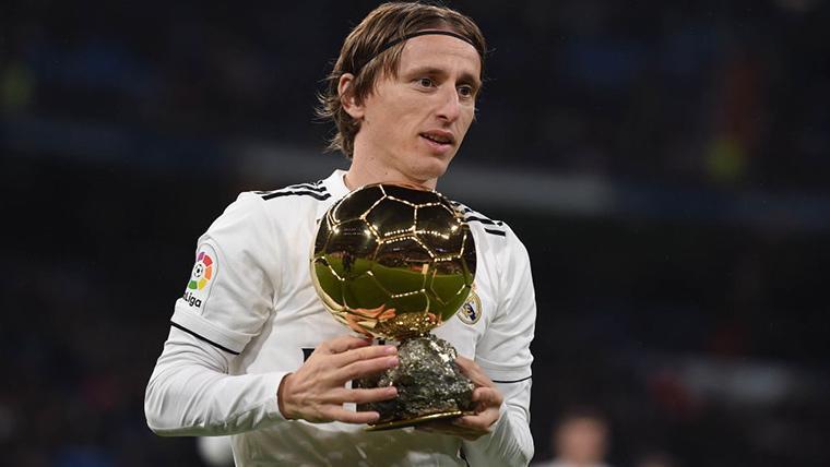 Agradecimiento de Xavi a Modric por citarle en el Balón de Oro