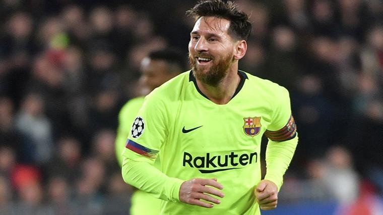 Brillante definición de Messi para duplicar la ventaja en Levante