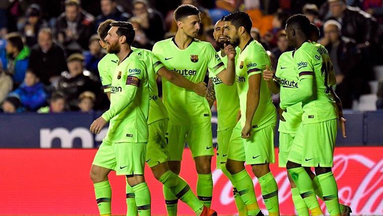 ¡Uno, dos y tres! Obra de arte de Luis Suárez y 'hat-trick' de Messi