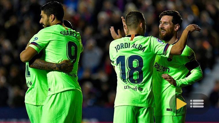 Vídeo resumen: Levante UD 0 FC Barcelona 5 (LaLiga J16)