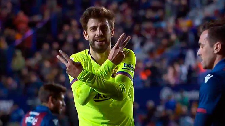 'Piquenbauer' puso la manita en el Levante-Barça tras otra asistencia de Messi