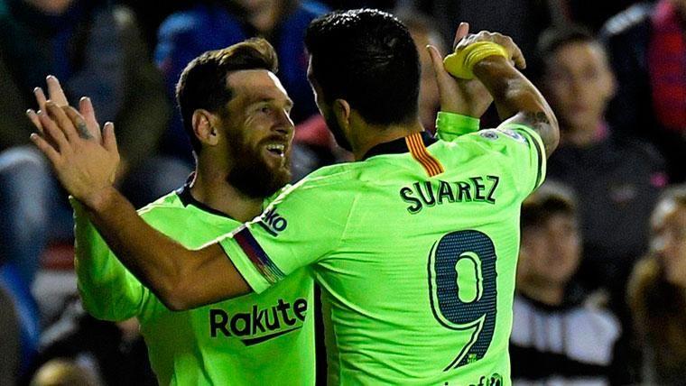 Messi y Luis Suárez llevan más goles que Real Madrid y Atlético