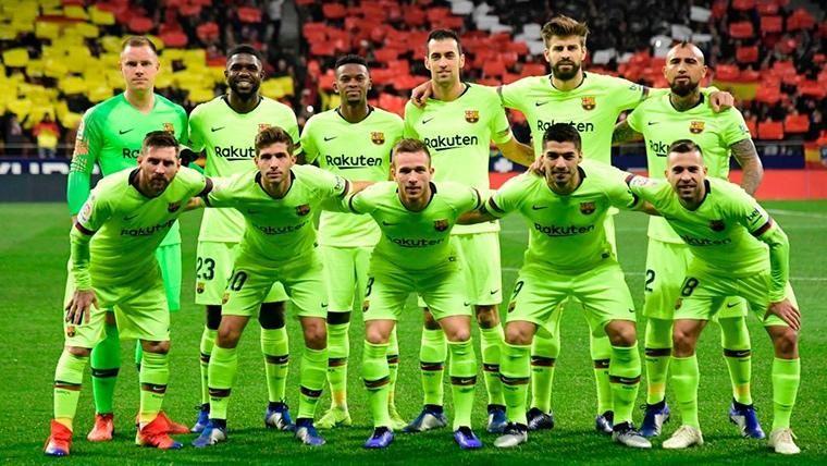 Con las lesiones de Semedo y Vermaelen, así queda la enfermería del FC Barcelona