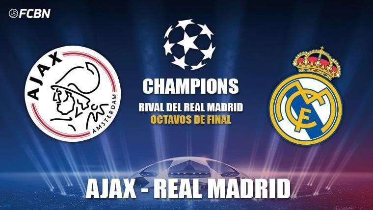 El Ajax de Amsterdam, rival del Real Madrid en octavos de Champions League