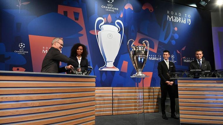 Así queda el calendario de los octavos de final de la Champions League 2018-19