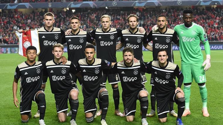 De Jong y De Ligt sueñan con dar la sorpresa en el Ajax-Madrid