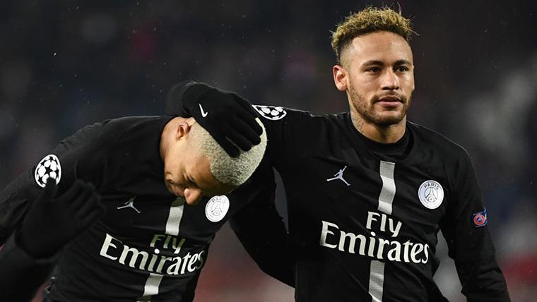 Mbappé y Neymar se encuentran a 'The Special One' en Champions