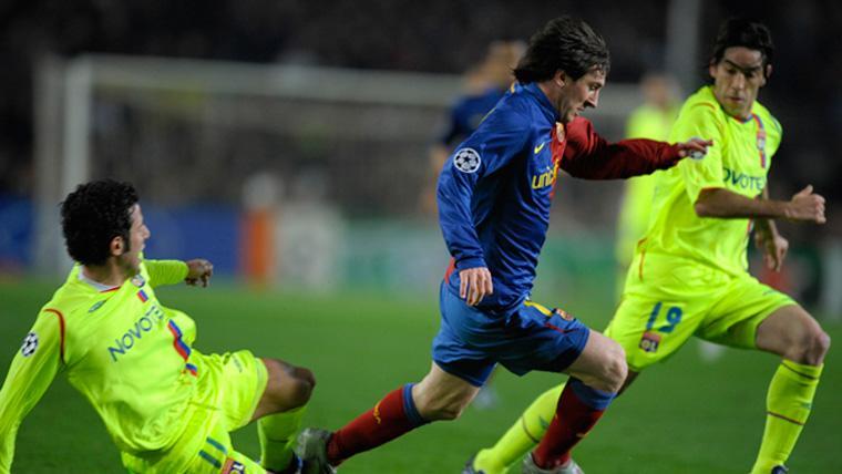 El Olympique de Lyon teme a un Leo Messi al que ya ha sufrido en Champions