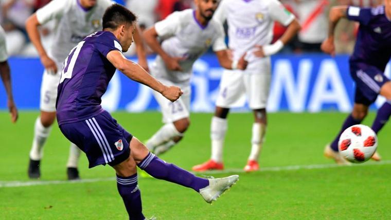 Los penaltis condenan a River Plate y Al-Ain jugará la final del Mundial de Clubes (2-2)