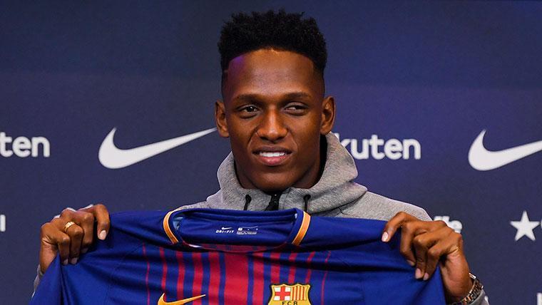 Jeison Murillo espera no repetir el 'caso Yerry Mina' en el Barça