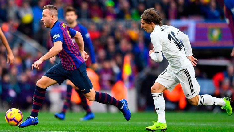 Xavi aconseja a Arthur y da la clave de la era 'post Messi' del Barça