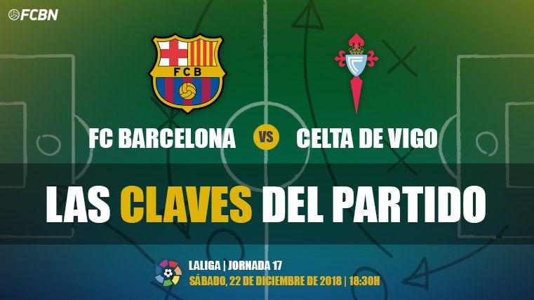 Las claves del FC Barcelona-Celta de Vigo de LaLiga 2018-19