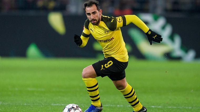 Contratiempo inesperado para Paco Alcácer en el Dortmund