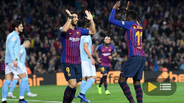 Vídeo resumen: FC Barcelona 2 Celta de Vigo 0 (LaLiga J17)