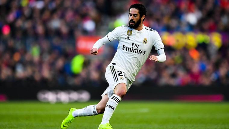 The of Isco Alarcón and the Real Madrid every time has worse paints