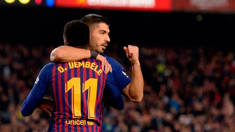 El cambio de planes del Barça que está beneficiando a Luis Suárez