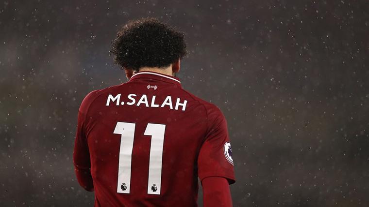 Salah aún no está al 100% tras la lesión provocada por Ramos