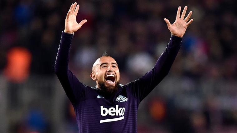 Mensaje lleno de ambición de Arturo Vidal con el FC Barcelona