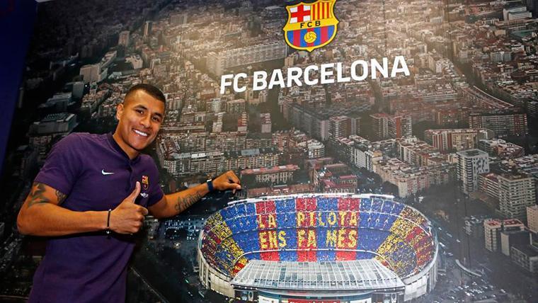 El Deportivo Cali quiere cobrar por la cesión de Murillo al Barça