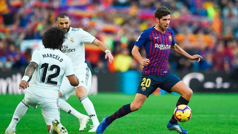 Sergi Roberto regresará en el primer partido del Barça en 2019