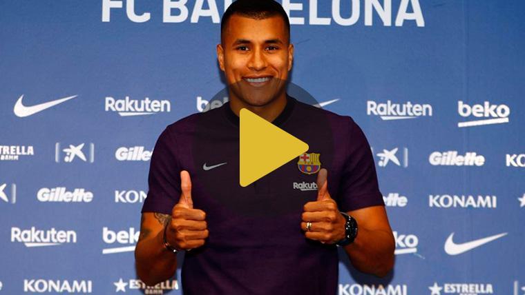 EN DIRECTO: Sigue la presentación de Jeison Murillo con el Barça