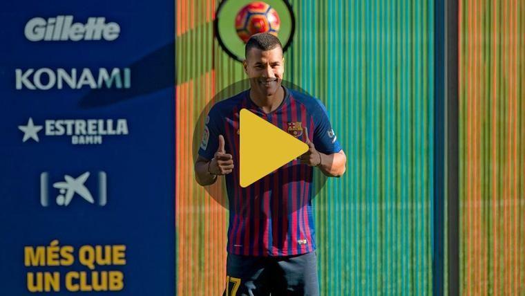 OFICIAL: Jeison Murillo lucirá el dorsal '17' en el FC Barcelona