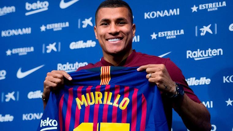 """Murillo: """"Es un sueño estar en el Barça, no vengo a compararme con Yerry Mina"""""""