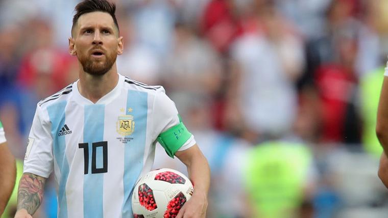Argentina convencerá a Messi para jugar la Copa América 2019