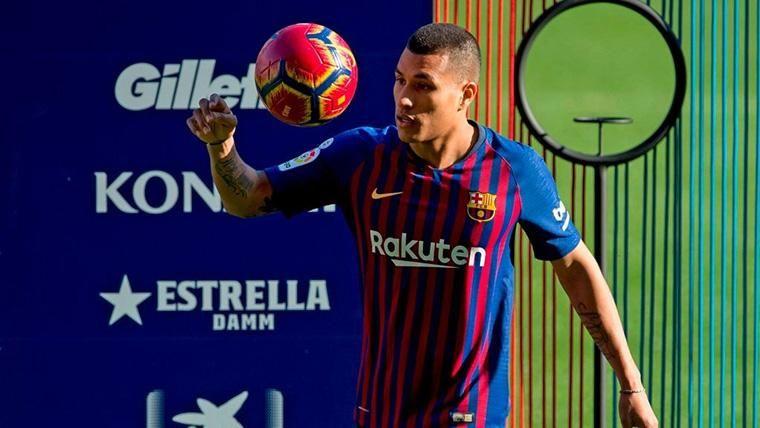 Jeison Murillo se entrena en día de fiesta para llegar a tope con el FC Barcelona