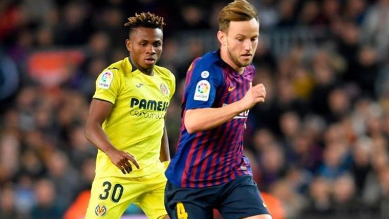 La Premier League puede arrebatar al Barça a Chukwueze