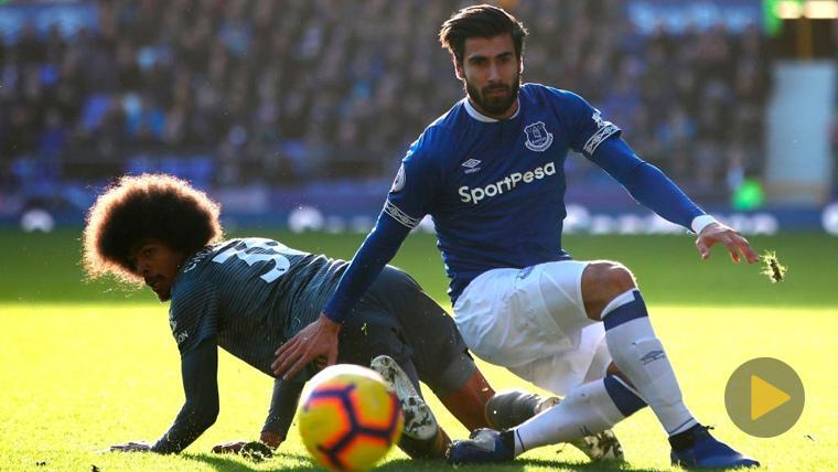 André Gomes está de moda en el Everton: ¡Los aficionados le dedican una canción!
