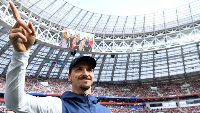 VIRAL: La última ocurrencia de Ibrahimovic triunfa en Instagram
