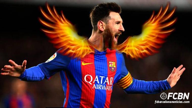 Leo Messi, un 'killer' con el Barça en los meses de enero
