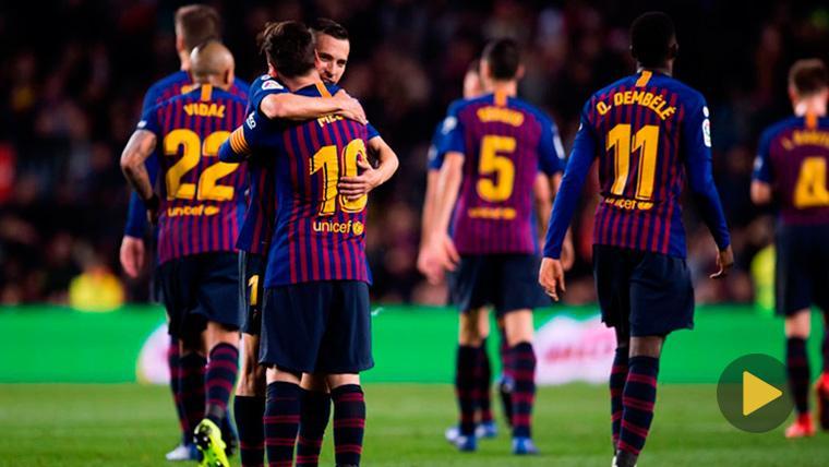 ¿Quién marcará el primer gol liguero del Barcelona en 2019?