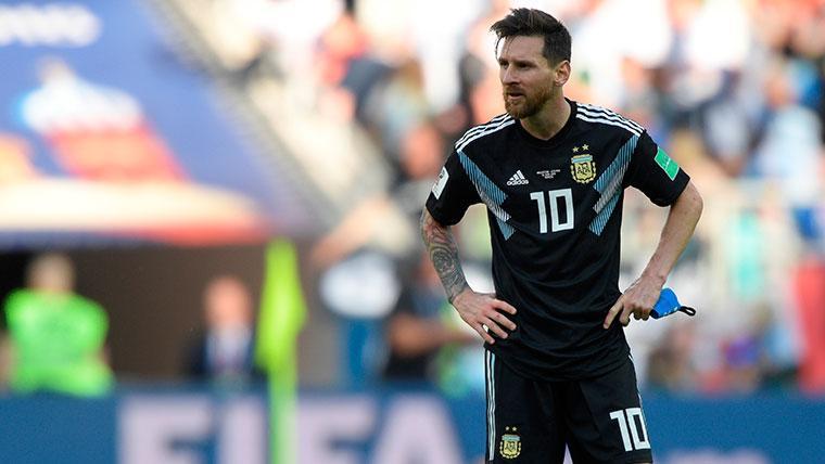 El plan de Argentina para que Messi vuelva a la selección, ¿un amistoso en el Camp Nou?