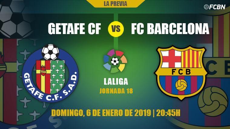El Barça se enfrenta al Getafe en busca del primer triunfo del año 2019